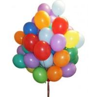 Сет ШКОЛЬНЫЙ из 30 разноцветных шаров