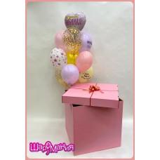 Коробка-сюрприз для любимой