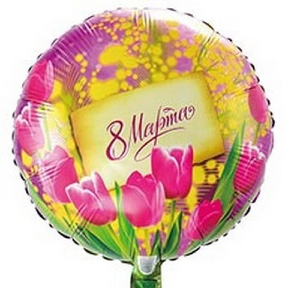 8 марта, тюльпаны и мимозы